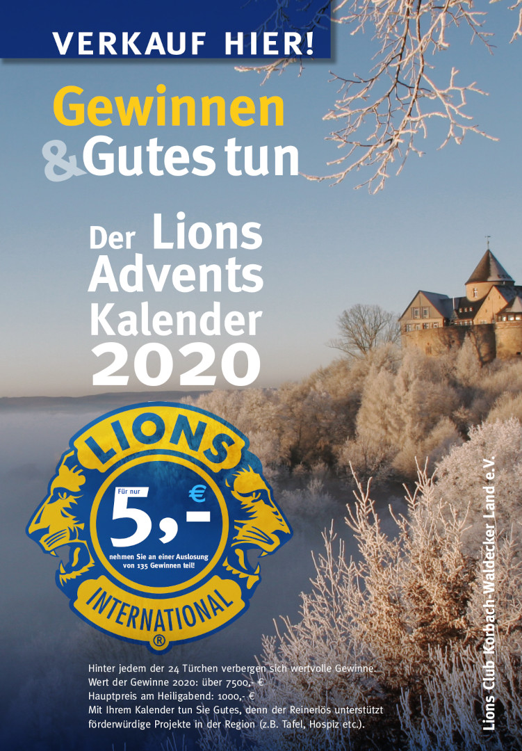 Adventskalender 2020 - Flyer
